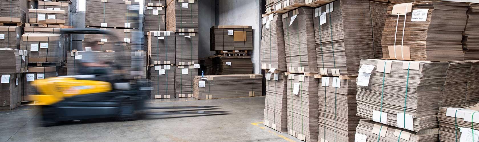 Scatolificio monticano fornitura di scatole just in time for Piani di produzione